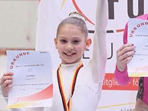 Bronze bei Deutsche Jugendmeisterschaften Kader Turnerin